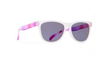 Invu acetato transparente e rosa