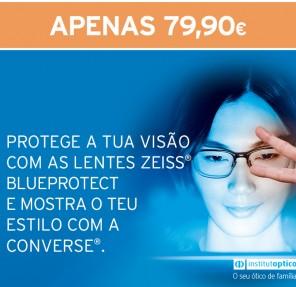 Promoção Blue Protect e Converse