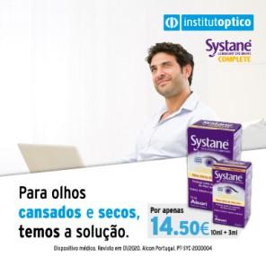 Promoção Systane Complete
