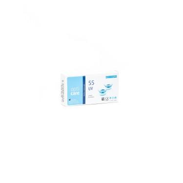 Opticare 55 UV - Lente mensal - Embalagem 6 lentes