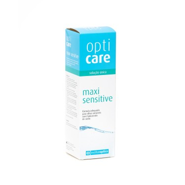 Opticare MaxiSensitive - c/Hialorunato de Sódio -