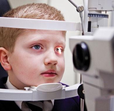 Saúde visual das crianças