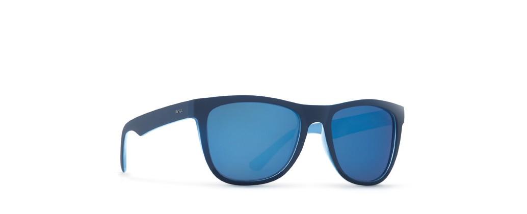 Invu  T2612 Cor C Rubberized Blue on Milky Blue
