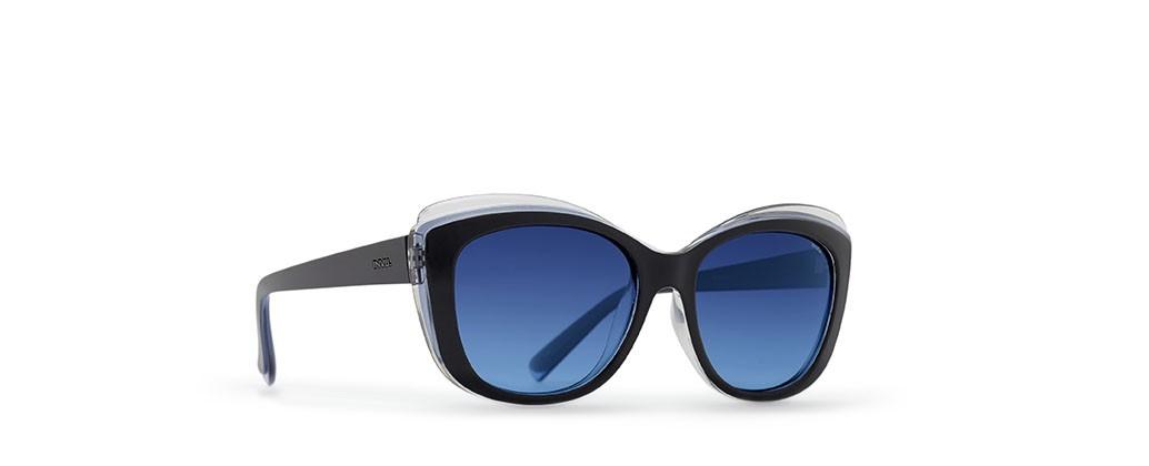 Invu B2607 Cor A Black on Blue on Crystal - Gradie